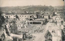 V V 116 / CARTE PHOTO - LISIEUX (14) DESTRUCTION 1944- ETS SAFFREY - Lisieux
