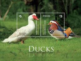 MUSTIQUE Of ST.VINCENT ; SCOTT # ; IGPC 1409 S ; MINT N H STAMPS (  BIRDS ; DUCKS - St.Vincent & Grenadines