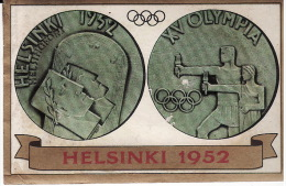 FIGURINA HELSINKI 1952 - OLYMPIA PANINI - - Abbigliamento, Souvenirs & Varie