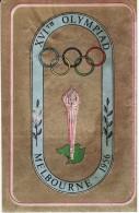 FIGURINA XVI° OLIMPIADE MELBOURNE 1956 - OLYMPIA PANINI - - Abbigliamento, Souvenirs & Varie