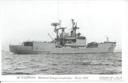 """CP PHOTO: """" DUQUESNE """" -  BATIMENT D'EXPERIMENTATION  A 610  - 25-10-1972  -  (  - BATEAU DE GUERRE ) - Guerre"""
