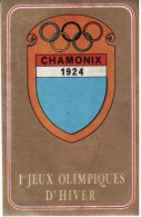 FIGURINA OLIMPIADE CHAMONIX 1924 - OLYMPIA PANINI N° 258 - - Abbigliamento, Souvenirs & Varie