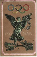 FIGURINA OLIMPIADE PARIS 1900 - OLYMPIA PANINI N° 23 - - Apparel, Souvenirs & Other