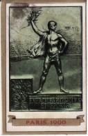FIGURINA OLIMPIADE PARIS 1900 - OLYMPIA PANINI N° 24 - - Apparel, Souvenirs & Other