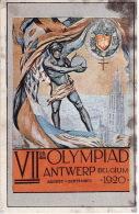 FIGURINA OLIMPIADE ANTWERP 1920 - OLYMPIA PANINI N° 58 - - Abbigliamento, Souvenirs & Varie