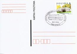 Poland Pologne, Last Day Of Railway Post Bialystok Gdynia, Post Wagon, Train. 2003 - Trains