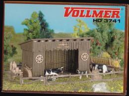MAQUETTE A CONSTRUIRE -VOLLMER  HO 3741 -ETABLE - Scenery