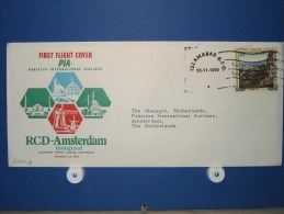 FFC First Flight 277 Islamabad Pakistan - Amsterdam 1970 - A834a (nr.Cat DVH) - Afghanistan