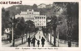 BORDIGHERA HOTEL ROYAL E VIA REGINA ELENA LIGURIA - Italia