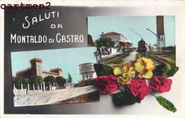 SALUTO DA MONTALDO DI CASTRO LAZIO STAZIONE - Italie