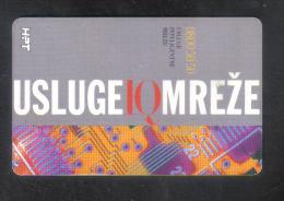 CROATIA  - ( USLUGE  )  PHONECARD 1997 - Kroatien