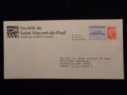 PAP REPONSE BEAUJARD SOCIETE DE SAINT-VINCENT-DE-PAUL 13P290 - PAP: Ristampa/Beaujard