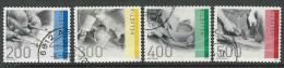 Schweiz Mi 2176-77 +2208-09 Jahr 2010 + 11, Hohe Werte, Gestempelt, Siehe Scan - Oblitérés