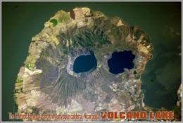 The Chiltepe Peninsula And The Apoyeque Caldera, Nicaragua. Volcano Lake Postage Card 3268-16 - Postkaarten