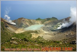 Otake Crater Lake, Japan, Ryukyu Islands. Volcano Lake Postage Card 3268-16 - Postkaarten