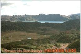 Karymsky Lake, Russia, Kamchatka. Volcano Lake Postage Card 3268-16 - Postkaarten