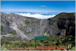 Irazu Volcano, Costa Rica. Volcano Lake Postage Card 3268-16 - Postkaarten