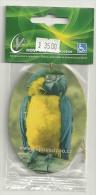 Aromatherapie Citron Citroen Lemon / Perroquet Papegaai Parrot / Papousci Zoo CZ / Fermé Gesloten Closed - Perfume Cards