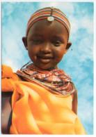 TANZANIA - LITTLE SAMBURU GIRL / THEMATIC STAMP SCENERIES OF ZANZIBAR - Tanzania