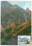 Poland 1996 Zakopane, Tatry Mountains Tatra - Cartes Maximum