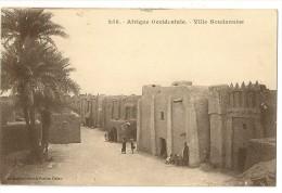 S2611  -258- Afrique Occidentale  - Ville Soudanaise - Soudan