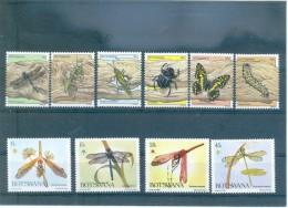 INSECTOS BOTSWANA 264/269 (6V) (1981) - 333/336 (4V) 1983 MICHEL - Botswana (1966-...)