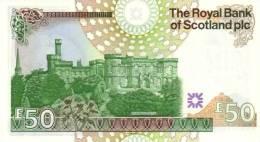 SCOTLAND P. 367 50 P 2005 UNC - 50 Pounds