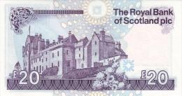 SCOTLAND P. 354e 20 P 2010 UNC - Scozia