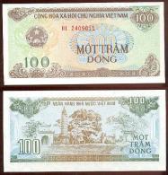 Vietnam 100 Dong 1991 Pk-105-a UNC - Vietnam