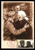 Maxicard Belarus 2014 Mih. 1011 Liberation From Nazi Troops (joint Issue Russia-Belarus) - Wit-Rusland