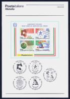 """2011 ITALIA REPUBBLICA """"10° ANNIVERSARIO AGENZIE FISCALI""""  BOLLETTINO ILLUSTRATIVO - 6. 1946-.. Republic"""