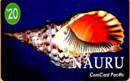 Nauru - NAU-5, Sea Shell Charonia Tritons , 20$, 1995 - Nauru