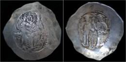 Alexius III Angelus Comnenus Electrum Aspron Trachy- Not Priced In Sear! - Byzantine