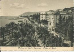 SAN REMO HOTEL DE PARIS