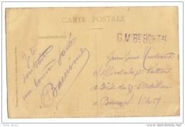 Cachet G.M. Groupe De Marche  8° Bataillon Tal - Poststempel (Briefe)