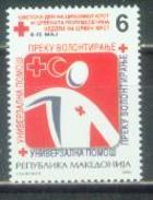 MK 2006-ZZ137 RED CROSS, MACEDONIA, 1 X 1v, MNH - Macedonië