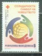 MK 2004-ZZ129 RED CROSS - SOLIDARITE, MACEDONIA, 1v, MNH - Macedonië