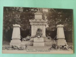 """BELFORT - Cimetière Des Mobiles, Monumeny De La """" Sainte Barbe"""", Aux Artilleurs Morts - Monuments Aux Morts"""