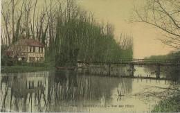 PINTERVILLE - Vue Sur L'Eure - Carte Glacée Vernie - Pinterville