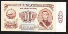 MONGOLIA  P45   10  TUGRIK   1981   UNC. - Mongolia