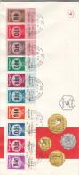 Israël - Lettre De 1990 - Monnaies - Oblitération Jérusalem - Covers & Documents