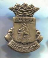GIRAFFE - Blijdorp, ROTTERDAM Holland,  Vintage Pin Badge - Animals