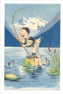 11951 - Minouvis La Pêche Une Belle Pièce ... Au Pantalon Don´t Count Your Fish Before They´re Caught - Illustrators & Photographers