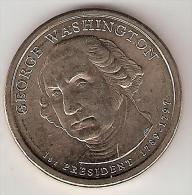 Usa, 1 Dollar 2007 D  Washington Unc !!!!!!!!! - 2007-…: Presidents