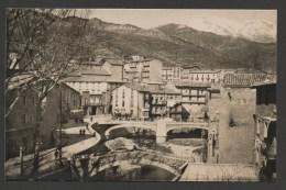 POBLA DE LILLET   Puentes Sobre El Liobregat Al Fondo - Puigiliancada Nevado /  Edicion Cabanas N° 18 / Non Voyagée - Barcelona