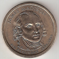 Usa, 1 Dollar 2007 P Madison  Unc !!!!!!!!! - 2007-…: Presidents