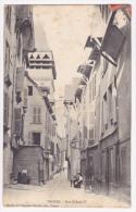 Troyes - Rue Urbain IV (petite Animation) - Circulé 1910, Expédiée En Russie (cachet Russe) - Troyes