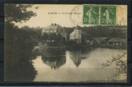 CPA: 71 - GIBLES - LE GRAND MOULIN - France