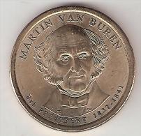 *usa, 1 Dollar 2008 D  Van Buren  Unc - 2007-…: Presidents