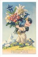 11957 - Minouvis Quelques Fleurs Des Alpes Pour Vous An Alpine Bouquet - Illustrators & Photographers